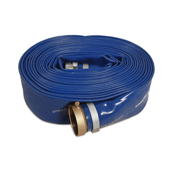 "4"" x 50' Soft Discharge Hose by Mi-T-M"