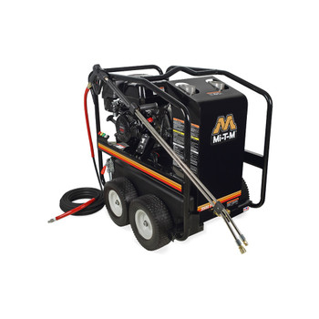 HSP Series Gasoline Direct Drive Hot Water Pressure Washer by Mi-T-M - HSP-3504-3MGH
