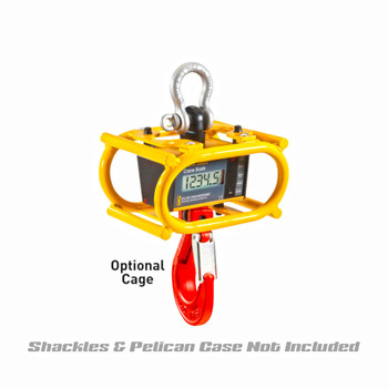 """RON3025MCW Integrated 1""""/25mm Display Crane Scale with Optional Cage"""