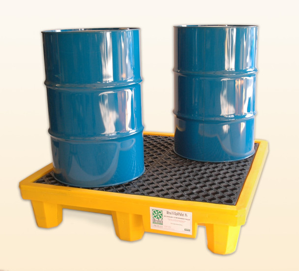 Ultra Spill Pallet (American Made) (Drums Not Included)