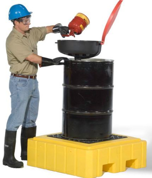 Ultra Spill Pallet Plus Model (American Made) (Drum Not Included)