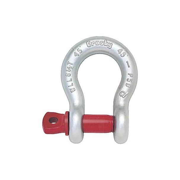 G209 Crosby Maxtough Galvanized Screw Pin Anchor Shackle (USA)