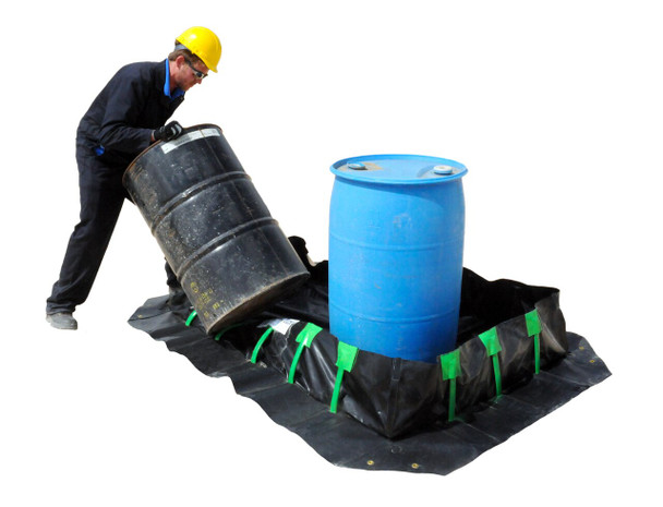 Ultra-Containment Berm Stake Wall Model (American Made)