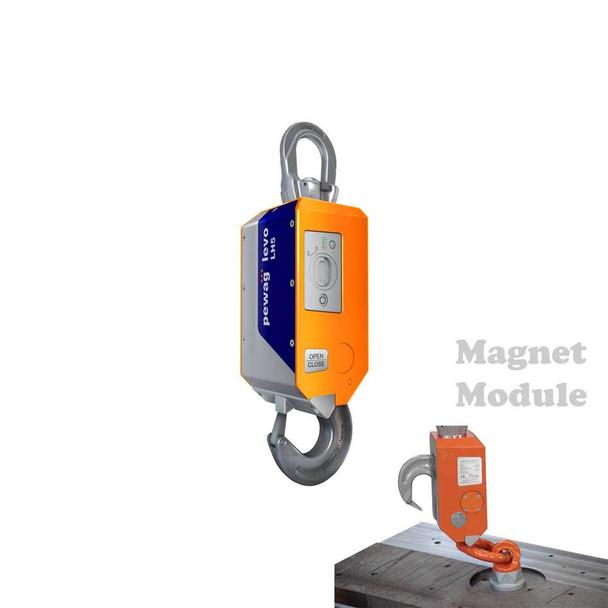 LH5 pewag levo hook LH 5t Basic with Magnet Module 01