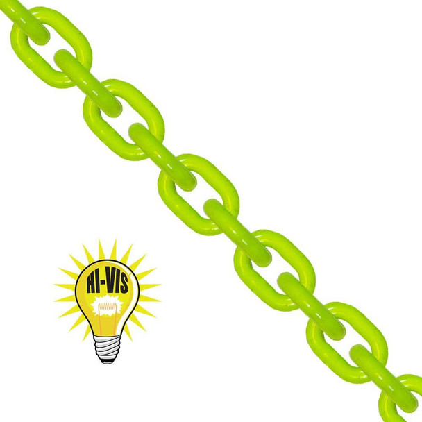 Alloy Chain, High Visibility, Grade 100 by Laclede