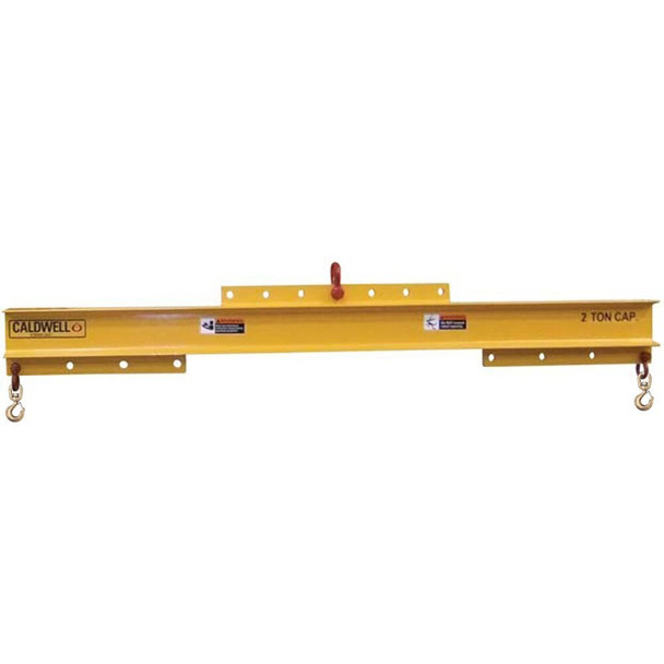 Model 16 Adjustable Spreader/Lifting Beam with Swivel Hooks by Caldwell Rig-Master