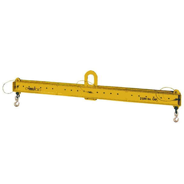 Model 17 Adjustable Lifting Beam with Swivel Hooks by Caldwell Rig-Master