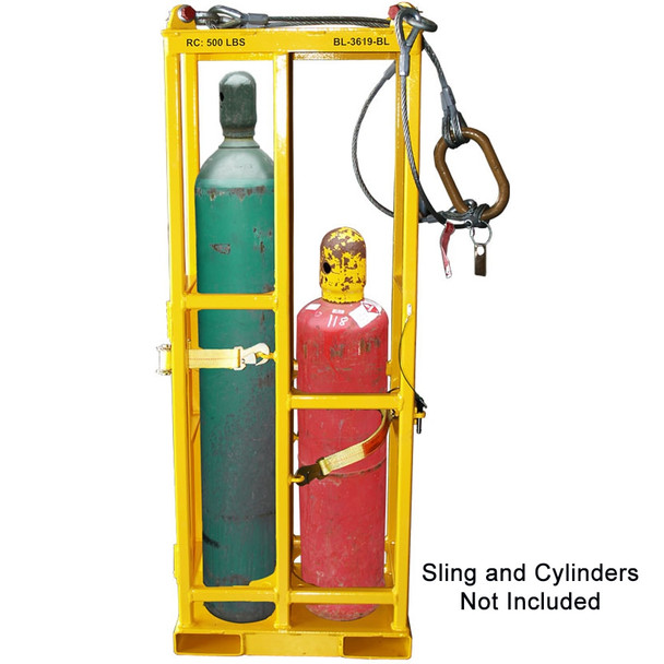 BL-3619 Double Oxygen/Acetylene Bottle Lifter