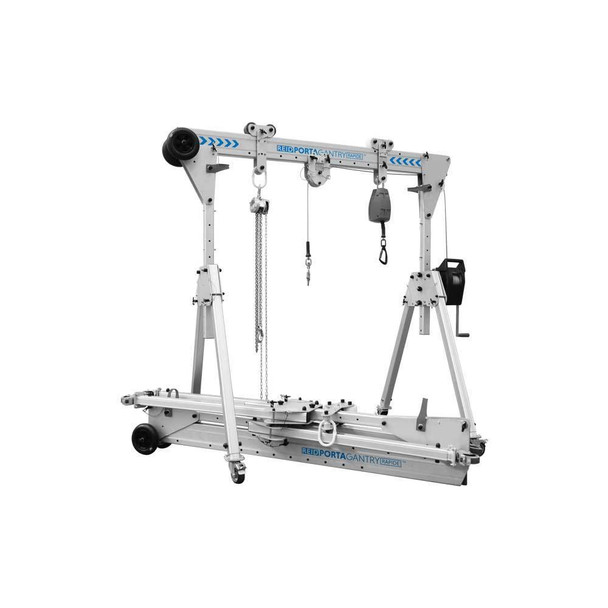 PortaGantry Rapide   Aluminum A-Frame by REID Lifting