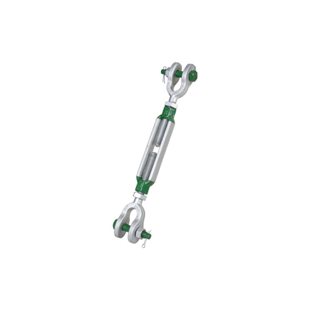 G-6323 Jaw & Jaw Turnbuckle BN Galvanized by Van Beest Green Pin