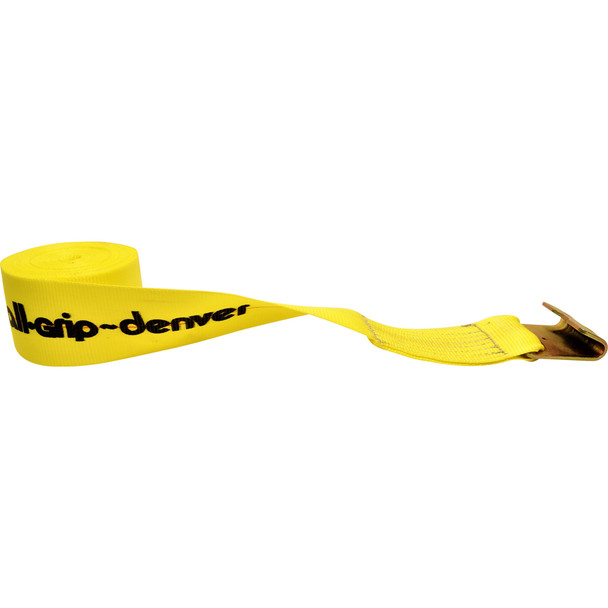 """4821HD37F 4"""" Wide Loose End Cargo Strap"""
