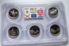 2003 PCGS PROOF 69 DEEP CAMEO CLAD STATE QUARTER SET with FLAG LABEL