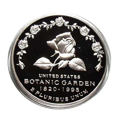 1997 PROOF BOTANIC GARDENS SILVER DOLLAR with OGP