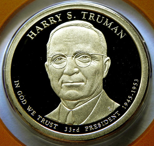 2015-S PROOF TRUMAN PRESIDENTIAL DOLLAR
