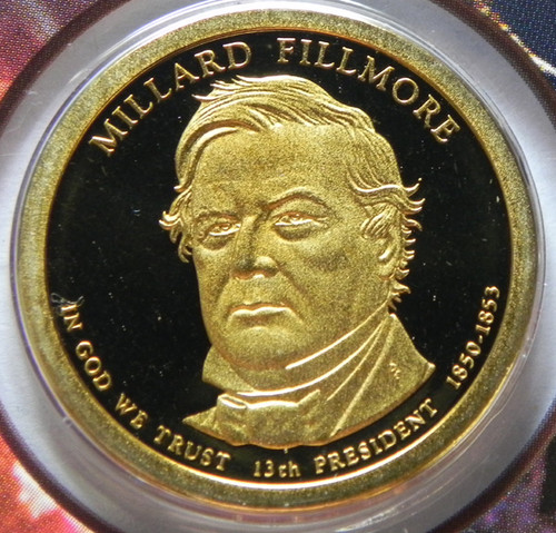 2010-S PROOF MILLARD FILLMORE PRESIDENTIAL DOLLAR