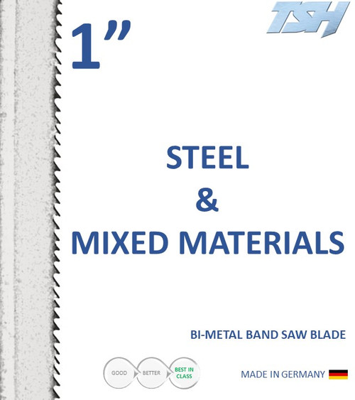 For metal applications and mixed materials