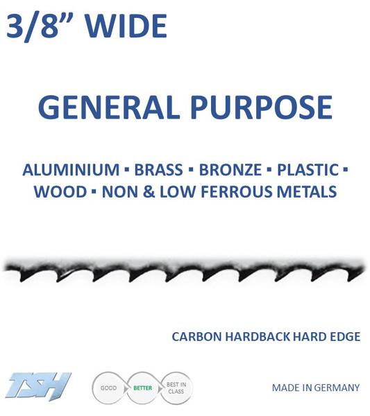"3/8"" Carbon, Hardback, Hard Edge (.025in)"