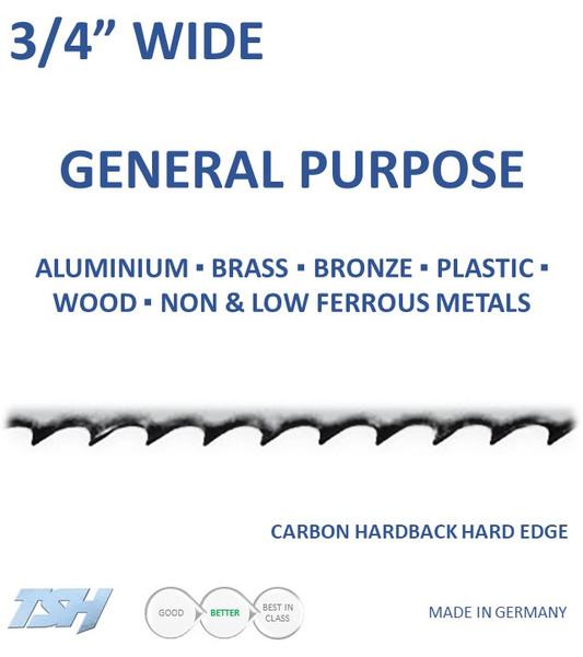 "3/4"" Carbon, Hardback, Hard Edge (.032in)"