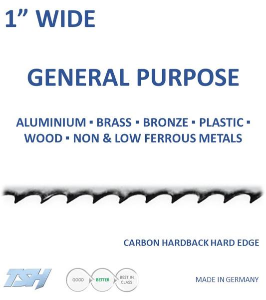 "1"" Carbon, Hardback, Hard Edge (.035in)"