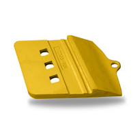 109-9082L. Romac. Caterpillar style half arrow, non-reversible, left hand segment for a loader, takes 3 - 125x400 plow bolts and 3 - 125 hex nuts. Quality aftermarket G.E.T. (bucket teeth) for Caterpillar (CAT), JCB, Bobcat, Takeuchi, John Deere, Case, Komatsu, Kubota and many others including manufacturers such as ESCO, Hensley, H&L for all your backhoe, loader, skid steer, grader, scraper and excavator bucket tooth (teeth) needs.