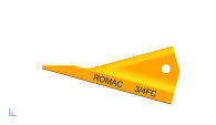 6515121. Romac. H&L style fabricated/scarifier/ripper crimp on bucket tooth; Use Item # 1 3/4F.  Quality aftermarket G.E.T. (bucket teeth) for Caterpillar (CAT), JCB, Bobcat, Takeuchi, John Deere, Case and Komatsu