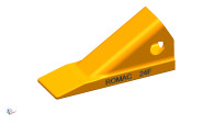 24F. Romac. H&L style dirt bucket tooth for a 240 series, takes a 24FP flex pin. Quality aftermarket G.E.T. (bucket teeth) for Caterpillar (CAT), JCB, Bobcat, Takeuchi, John Deere, Case, Komatsu, Kubota and many others including manufacturers such as ESCO, Hensley, H&L for all your backhoe, loader, skid steer, grader, scraper and excavator bucket tooth (teeth) needs. Quality aftermarket G.E.T. (bucket teeth) for Caterpillar (CAT), JCB, Bobcat, Takeuchi, John Deere, Case and Komatsu