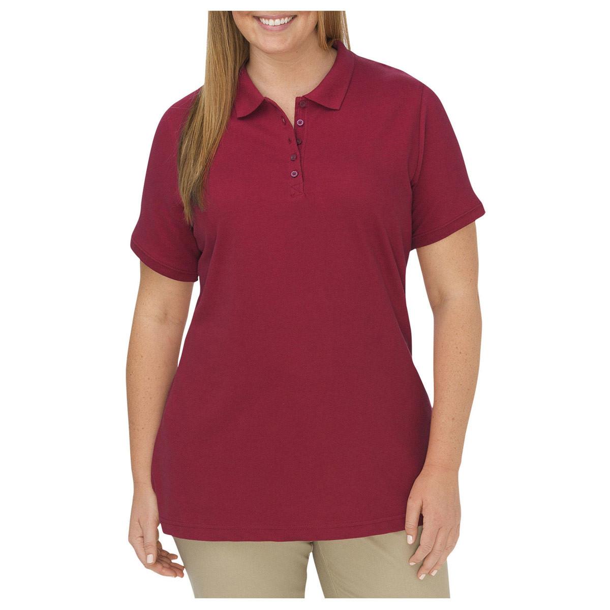 Dickies Women's Plus Pique Polo Shirt - FSW023