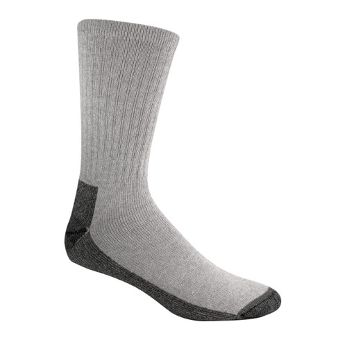 Wigwam At Work Crew Socks - 3 Pack - S1221 Gray