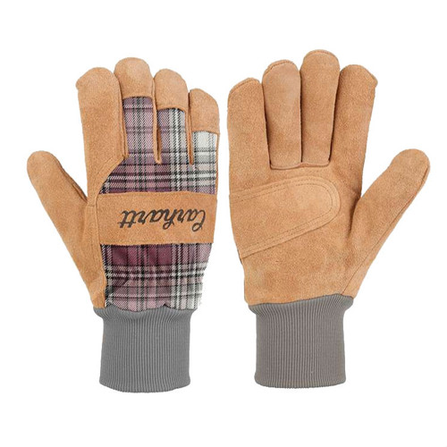 Carhartt Women's Suede Knit - Cuff Work Gloves - W696