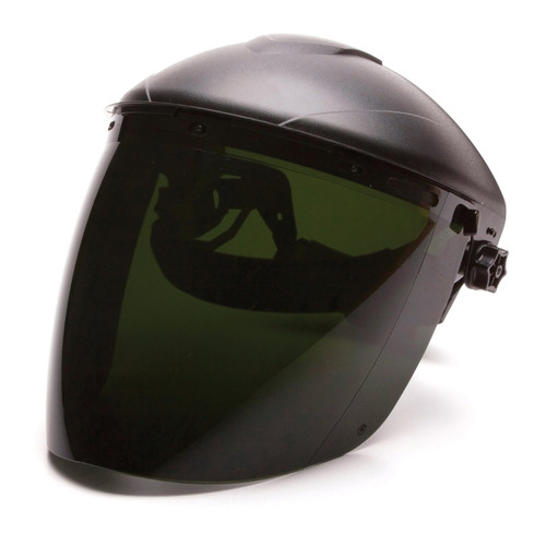 Pyramex Tapered IR5 Polycarbonate Face Shield - S1150