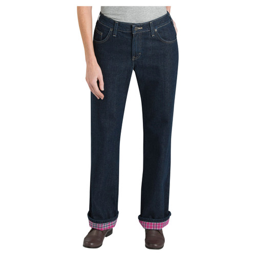 Dickies Women's Flannel Lined Work Pants - FD117