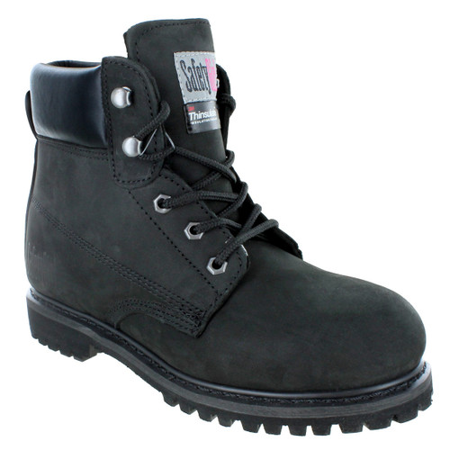 Safety Girl II Insulated Work Boot - Black