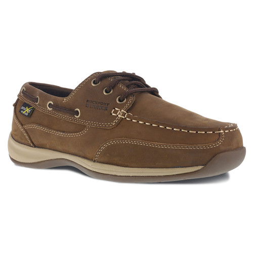 Rockport Women's Three Eye Tie Boat Shoe - RK634