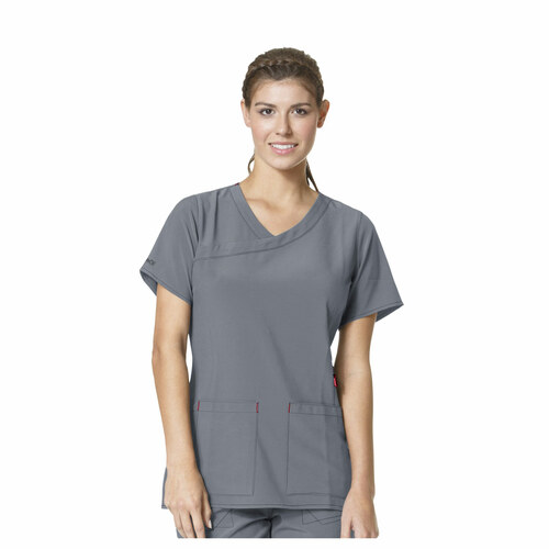 Carhartt Women's Cross Flex Y-Neck Scrub Top - C12210