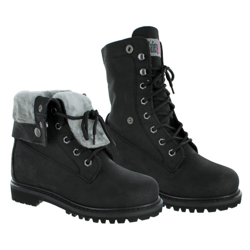 Safety Girl Madison Fold-Down Work Boot - Black