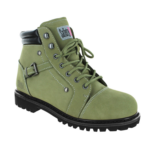 Safety Girl Fusion Work Boot - Moss