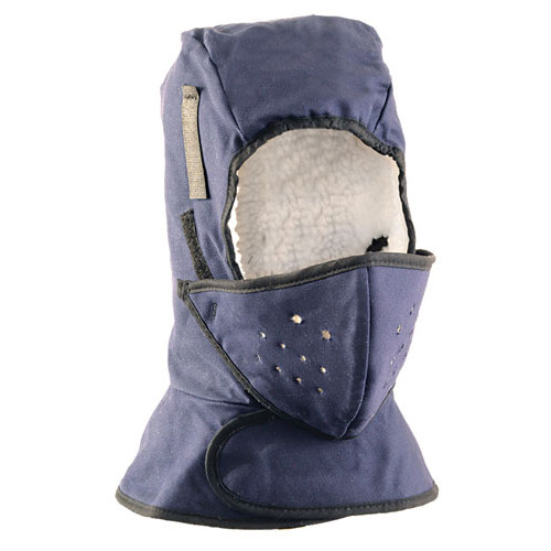 Occunomix Shoulder Length Hard Hat Liner with Mouthpiece - SS551