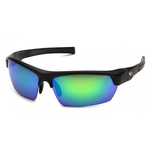 Venture Gear Tensaw Safety Glasses - Green Mirror Polarized Lens