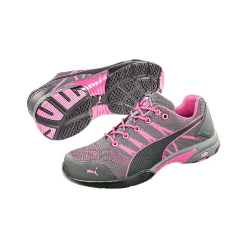Puma Safety Women's Celerity Pink Steel Toe Knit Shoes - 642915