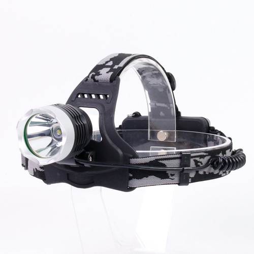 Rugged Blue 3W LED Rechargeable SOS Headlamp - 180 Lumens