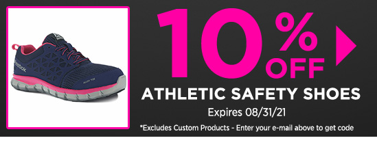 10% off Athletic Shoes