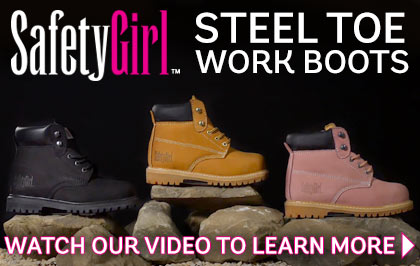 Safety Girl Steel Toe Boots