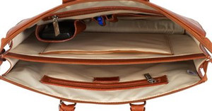 Sarita Leather iPad Briefcase