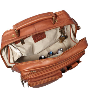 Jumbo Leather Man Bag