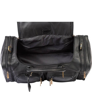 "Executive Leather Sport 22"" Duffel"