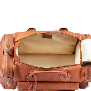 Classic Leather Sports Duffel