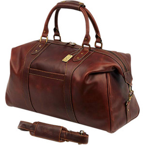 Legendary Normandy Leather Duffel