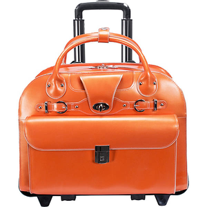 """Roseville 15"""" Fly-Through Checkpoint-Friendly Removable Rolling Ladies' Laptop"""