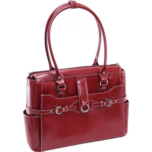 """W Series Willow Springs 15"""" Leather Ladies' Briefcase"""