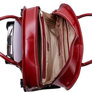 """W Series Glen Ellyn Leather Detachable-Wheeled Women's 15.4"""" Laptop Case"""